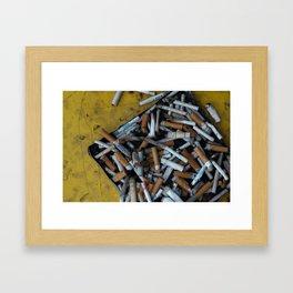 Random ashtray that looks kinda cool Framed Art Print