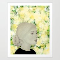 emily rickard Art Prints featuring Emily by Teri Martin