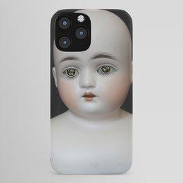 Typewriter Key Creepy Mentalembellisher Doll iPhone Case