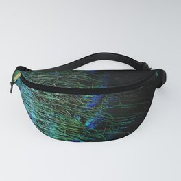 Peacock Details Fanny Pack
