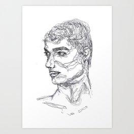 Ceasar Art Print