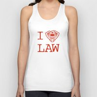 law Tank Tops featuring Law Lover by Fanboy30