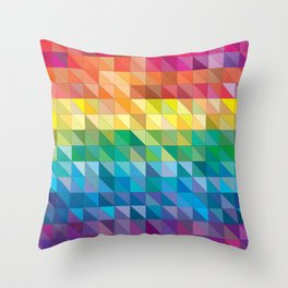 Add Colors To Your Room Throw Pillow