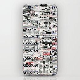 Pack Mule (P/D3 Glitch Collage Studies) iPhone Skin