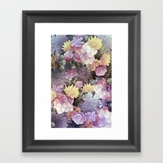 Pastel Nature Framed Art Print