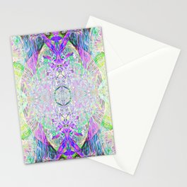 Crystal Dimension Codes Stationery Cards