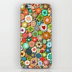 millefiori yellow iPhone & iPod Skin