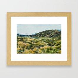 San Andreas Faultline Framed Art Print