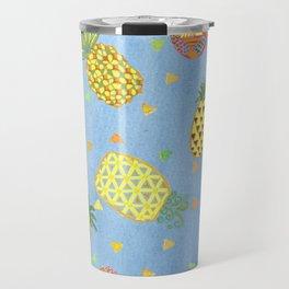 Pineapple Pura Vida Travel Mug
