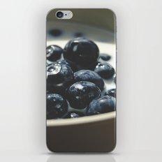 Blueberries II iPhone & iPod Skin