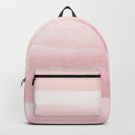 Blush Watercolor Abstract Minimalism #1 #minimal #painting #decor #art #society6 Backpack