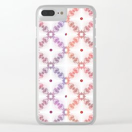 Vintage Filligree 1a Clear iPhone Case