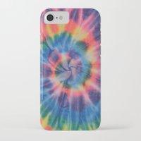tie dye iPhone & iPod Cases featuring Tie Dye by Yael Tal