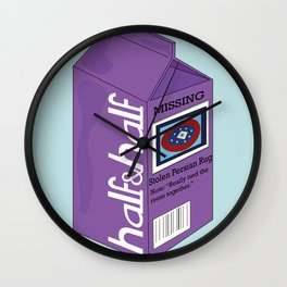 Half&Half Wall Clock
