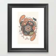 Turn Framed Art Print