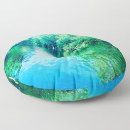 Dream River Floor Pillow