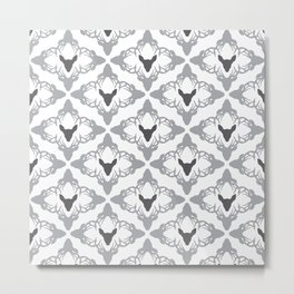 Stags & Does Metal Print