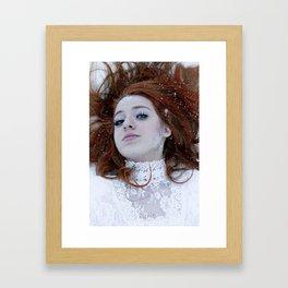 Ice Queen II. Framed Art Print