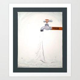 m.ojo Art Print