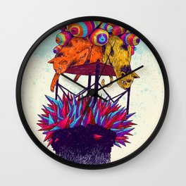 Full head Wall Clock