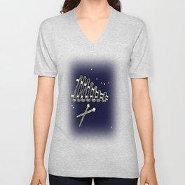 Space Marimba Unisex V-Neck