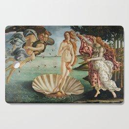 The Birth of Venus by Sandro Botticelli, 1445 Cutting Board