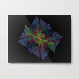 Wispy Cell Metal Print