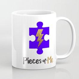 Pieces of Me Puzzle Pieces Coffee Mug