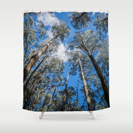 Tall Timber Shower Curtain