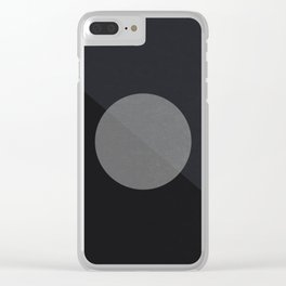 Supermoon Clear iPhone Case