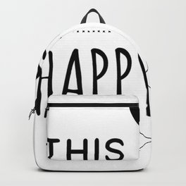 This is my Happy face Backpack