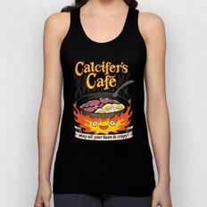 Calcifer's Cafe Unisex Tank Top