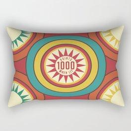 Pinball 2 Retro game Rectangular Pillow
