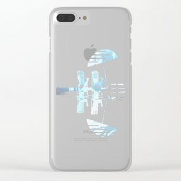 Throwing In The Towel Clear iPhone Case