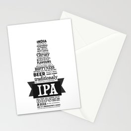 A beer is worth a thousand words - IPA Stationery Cards