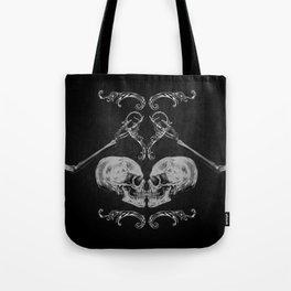 """""""Skull in Love"""" Tote Bag"""