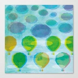Air Balloons Canvas Print