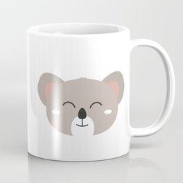 Happy Koala head Coffee Mug