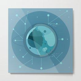 Planet F - Trappist System Metal Print