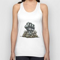 minerals Tank Tops featuring Minerals and rocks by YISHAII
