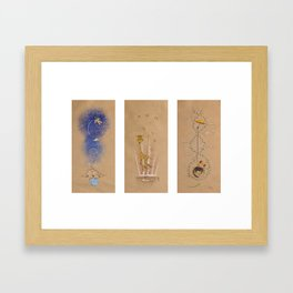Air of Imagination Nursery Collection - II Framed Art Print