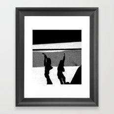 ShadowS Of The Dead Framed Art Print