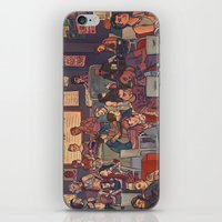cargline iPhone & iPod Skins featuring Clint's Coffee by cargline