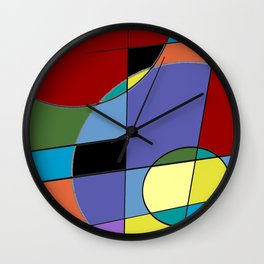 Abstract #40 Wall Clock