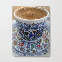 Turkish Coffee Metal Print