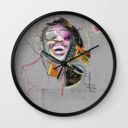 Stevie Wonder Wall Clock