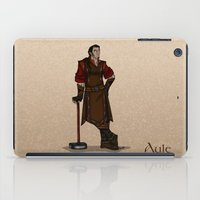 valar morghulis iPad Cases featuring Aule by wolfanita
