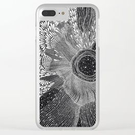 Natural vibrations Clear iPhone Case