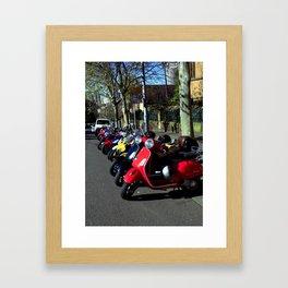 Sydney – Street View Framed Art Print