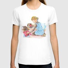 A girl with a kitten vol.2 T-shirt